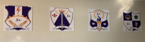 Crests symbolize uniqueness of each house